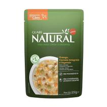 Ração Úmida Guabi Natural Frango, Cereias e Vegetais para Cães Adultos 100g -