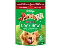 Ração Úmida para Cachorro Adulto Sachê - Dog Chow ExtraLife Carne 100g