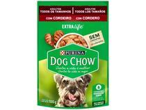 Ração Úmida para Cachorro Adulto Sachê - Dog Chow ExtraLife Cordeiro 100g