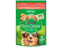 Ração Úmida para Cachorro Adulto Sachê - Dog Chow ExtraLife Frango 100g