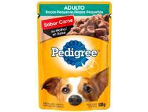 Ração Úmida para Cachorro Adulto Sachê - Pedigree Carne ao Molho 100g -