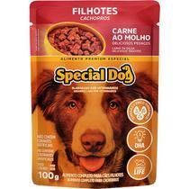 Ração Úmida para Cães Filhotes Sabor Carne 85g - Special Dog -