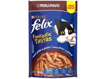 Ração Úmida para Gato Adulto Sachê Felix - Fantastic Tiritas Peru 85g