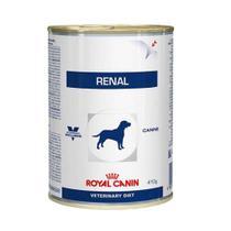 Ração Úmida Royal Canin Lata Veterinary Renal  Cães Adultos  410 g -
