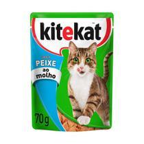 Ração Úmida Sachê Kitekat para Gatos sabor Peixe 70g -