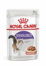 Ração úmida sachê royal canin gatos sterilised 85g -