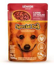 Ração Úmida Special Dog Sachê Carne Cães Senior 100Gr -