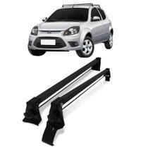 Rack Bagageiro Aço de Teto Ford Ka 2008 até 2013 Vhip -