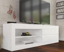 Rack Baly Com 02 Gavetas Branco/Branco - At house