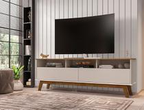 Rack Bancada Para TV 65 Polegadas Sala Elegant 2 Portas - Móveis Bechara