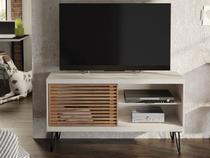 Rack Bancada Para TV Até 50 Polegadas Frizz Off White Buriti - Líder Design