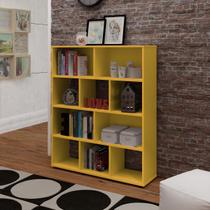 Rack Book - Amarelo - Artely