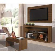 Rack c/Painel TV até 47 Pol Mesa Centro Inovare Multimóveis Duna Acetinado Texturizado -