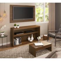 Rack c/Painel TV até 50 Pol.Mesa de apoio Atualle Multimóveis Duna Acetinado Texturizado REF. 2839 -