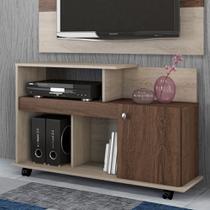Rack Com Dobradiça Metálica Com Espaço Para TV De Até 32 Polegadas Flash - Belaflex