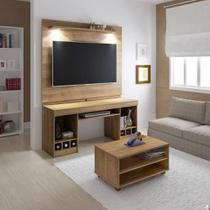 Rack com Mesa de Centro Painel para TV Até 47 Polegadas System Artely