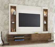 Rack com Painel 1 Porta de Correr com Led para TV TB129L Dalla Costa