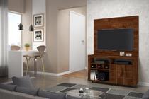 Rack com Painel América para Tv 42 polegadas e Adega - Dj móveis