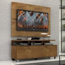 """Rack Com Painel Home Buzios 1,2 M Para Tv 48"""" - Quarta Divisão Móveis"""