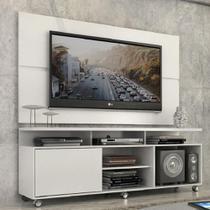 """Rack Com Painel Home Leblon 1,6 M Para Tv 55"""" - Quarta Divisão Móveis"""