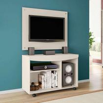 Rack com Painel Java Bechara Off White