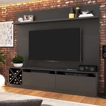 Rack Com Painel Para TV Até 50 Pol Quiditá Home 2023 - Quiditá Móveis