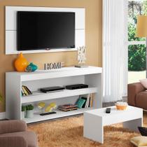 Rack com Painel para TV até 55 Polegadas e Mesa de Centro Madesa Flórida -