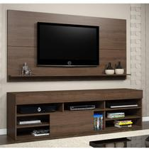 Rack com Painel para TV até 55 Polegadas Twin Espresso Móveis Malbec -