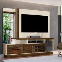 Rack com Painel para TV até 60 Polegadas 2 Portas Fizz Plus Madetec -