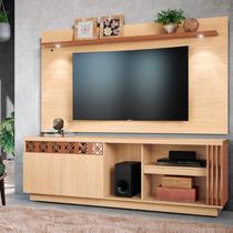 Rack com Painel para TV até 65 Polegadas 2 Portas com Espelho Astúrias Colibri Móveis -