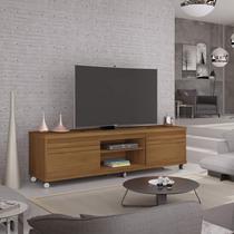 Rack com Rodízios para TVs até 72 Polegadas Mirage Germai Freijó - Móveis  Germai