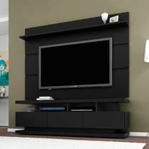 Rack e Painel para TV até 70 Polegadas Vivare Móveis  Germai Black -