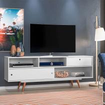 Rack Lille Branco 162 cm - Olivar móveis