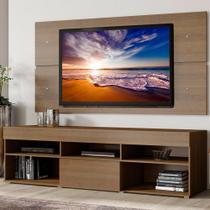 Rack Miami e Painel para TV Sala de Estar Madesa -