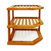 Rack Organizador de armário em Bambu Tyft -