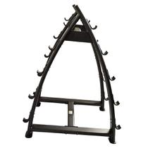 Rack para barra montada Ahead Sports AS6316 Cinza