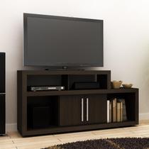 Rack para TV 42 com 2 Portas e 4 Nichos R1450 - Tabaco - Tecno mobili