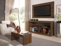 """Rack para TV até 55"""" com Mesa de Centro e Painel - Multimóveis Inovare"""