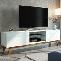 Rack para TV até 60 Polegadas Classic 1.8 Imcal 2 Gavetas -