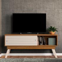 Rack para TV até 65 Polegadas 2 Portas Fizz 1.5 Madetec -