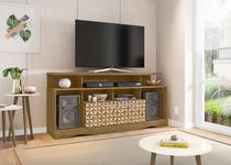Rack para TV Centurini Cinamomo com Madeira 3D - Móveis Bechara -