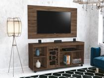 """Rack para TV com Painel para TV de até 46"""" - 1 Porta EDN Móveis Tradicional Laser"""
