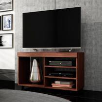 Rack para TV Frame Br 166 Castanho/Velasquez - Brv móveis
