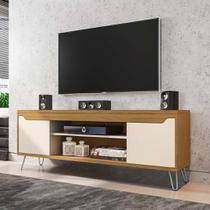 Rack para TV para sala de estar 160 cm pés metálicos moderno - Bechara