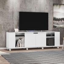 Rack Potenza Branco 180 cm - Olivar móveis