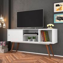 Rack Retrô Monschau Branco 140 cm - Olivar móveis