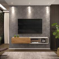 Rack Suspenso Concept 175cm Cool Home Off White/ Nature -