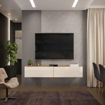 Rack Suspenso Future 1,80m Cool Home Off White/ Nature -