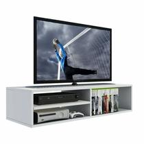 Rack Suspenso Para Tv, Dvd, Video Game, Com Nicho 100% Mdf - Belli Móveis