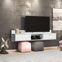 Rack Suspenso Renna Branco 162 cm - Olivar móveis